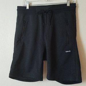 Hurley Nike Dri Fit Heathered Black Shorts
